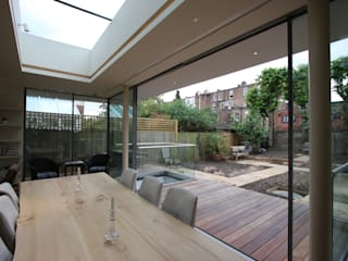 Courthope Road IQ Glass UK Modern dining room