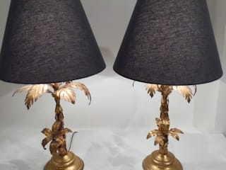 Vintage Palm Lamps by Travers Antiques