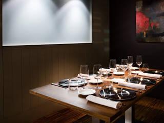 Restaurante en Santiago de Compostela de Arrokabe arquitectos Moderno