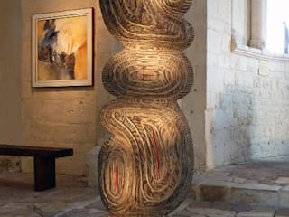Sculpture Equilibrium par Arnaud Pottier Moderne