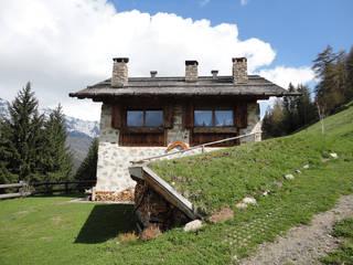 Rustykalne domy od zanella architettura Rustykalny
