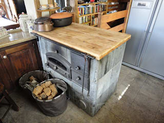 Cocinas de estilo rústico de zanella architettura Rústico