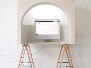 Alcôve Bureau minimaliste par Hadrien Fouin Minimaliste
