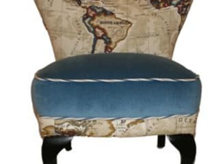 Around The World in 80 Days Just The Chair WohnzimmerHocker und Stühle