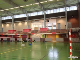Tribunes: Stades de style  par 3B Architecture