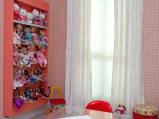Girl's Playroom Orlane Santos Arquitetura Quarto infantil moderno