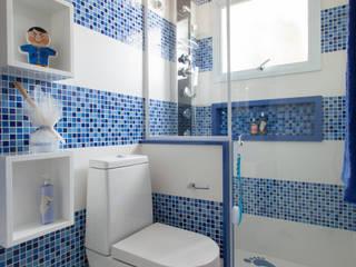 Banheiro do Menino Banheiros modernos por Orlane Santos Arquitetura Moderno