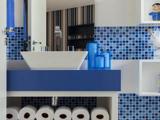 Banheiro do Menino Orlane Santos Arquitetura Banheiros modernos