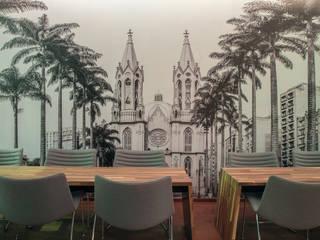 Coffe Shop Bares e clubes minimalistas por Orlane Santos Arquitetura Minimalista
