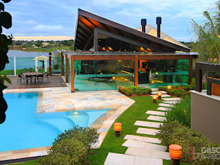 Casas de estilo  de Izabela Kassar Moretzsohn Arquitetura