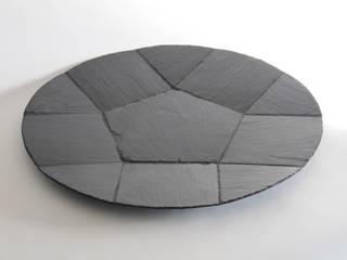 mobilier, art de la table en ardoise:  de style  par Le Trèfle Bleu
