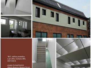 BLS Complesso d'uffici moderni di Studio BASE Moderno