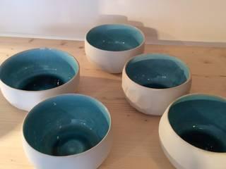 Bol bleu lagon:  de style  par ANOUKA CÉRAMIQUE