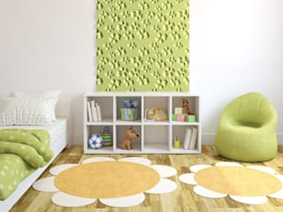Dekorative 3d Wandpaneele LOFT DESIGN SYSTEM:  Kinderzimmer von Loft Design System Deutschland - Wandpaneele aus Bayern
