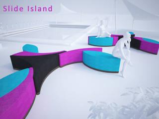 SLIDE ISLAND - Divano modulare:  in stile  di Giuseppe Granata - Designer | Vincenzo Schinella - Architetto