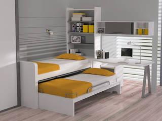 Dormitorios infantiles de estilo  por Sofás Camas Cruces