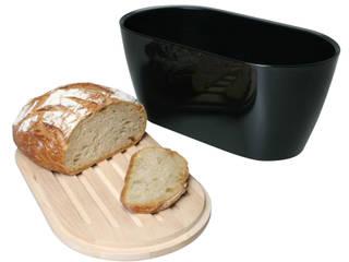 """Boîte à pain """"WOODY"""" de OMADA - Fabriqué en Italie:  de style  par CHEVALIER DIFFUSION"""