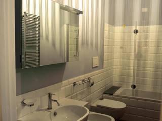 Nel centro di Roma, rinnovare e valorizzare un appartamento. Bagno di Quid divinum design
