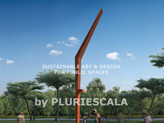 Sustainable Art and Design for public spaces:   por PLURIESCALA - ARQUITECTURA, PLANEAMENTO E DESIGN LDA