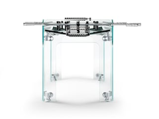 Cristallino Foosball Table de Quantum Play Moderno