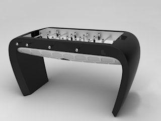 Blackball Foosball Table de Quantum Play Moderno