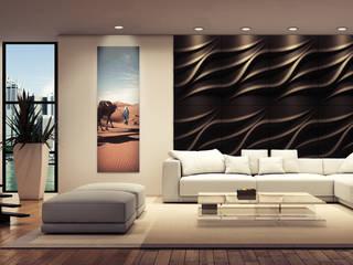Soggiorno in stile in stile Moderno di Loft Design System Deutschland