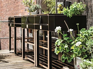 The modular Outdoor Kitchen Care OCQ - Outdoor Cooking Queen Balconies, verandas & terraces Furniture