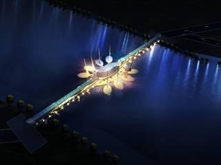 Living Bridge, Gift City:   by Axiom India