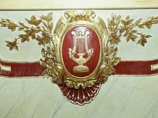 Restauro del teatro di Recanati:  in stile  di gavioli restauri
