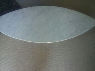 Carrara Marble Surf Coffee Table:   by Stone Smart