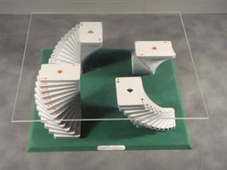 Table basse jeu de cartes par Design Bois Creation Éclectique