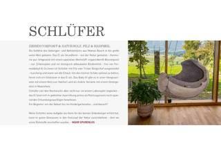 Schlüfer Babywiege:   von Mähr Möbeldesign