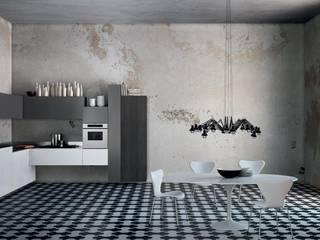 Italian Modular Kitchens: minimalist  by Grandeur Interiors,Minimalist