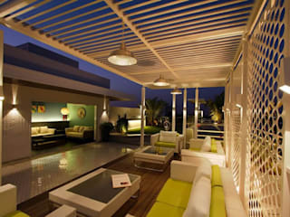 Manish Patel Penthouse by Dipen Gada & Associates