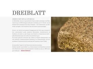 Dreiblatt Info:   von Mähr Möbeldesign