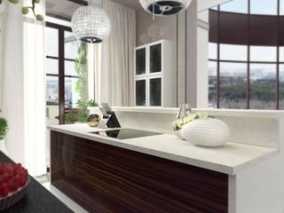 Проект пентхауса. Кухня. Кухня в классическом стиле от Katerina Butenko Классический