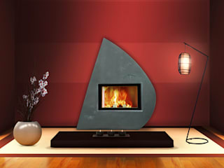 Zora la fée Living roomFireplaces & accessories