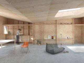 Holzbau der Zukunft:   von marc benjamin drewes ARCHITEKTUREN,Minimalistisch