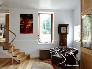 Clock Watching 3867 Bisca Staircases Ingresso, Corridoio & Scale in stile moderno