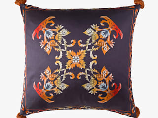 Flame :: Cushion:   by Julia Brendel Limited