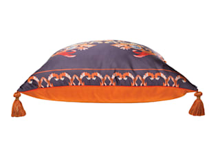 Flame Cushion: eclectic  by Julia Brendel Limited, Eclectic