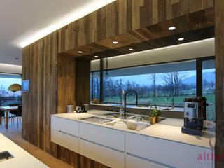 moderne Keuken door altholz, Baumgartner & Co GmbH