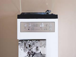 Meuble platine vinyle par Guillaume Bouvet Moderne