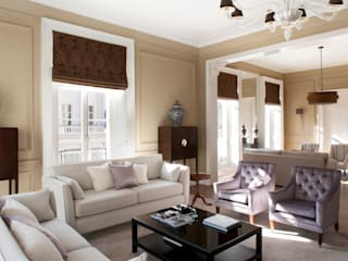 Eaton Square: Belgravia Roselind Wilson Design Livings de estilo moderno