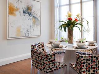 Salle à manger de style  par Roselind Wilson Design