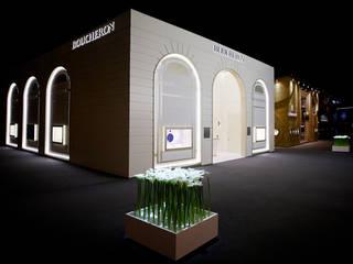 Guillaume Leclercq - Baselworld 2013 - Réalisation du stand Boucheron par Enviable