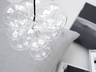 Cluster pendant light by House Doctor:   by An Artful Life