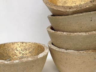 Small concrete bowls An Artful Life HouseholdAccessories & decoration