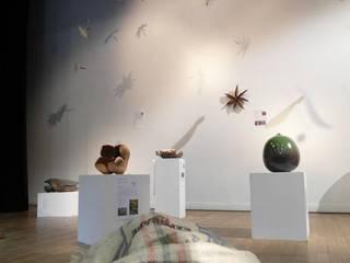 Installations de graines géantes: Jardin d'hiver de style  par Artgraine