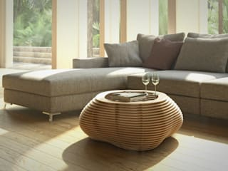 form.bar Living roomSide tables & trays Engineered Wood Beige